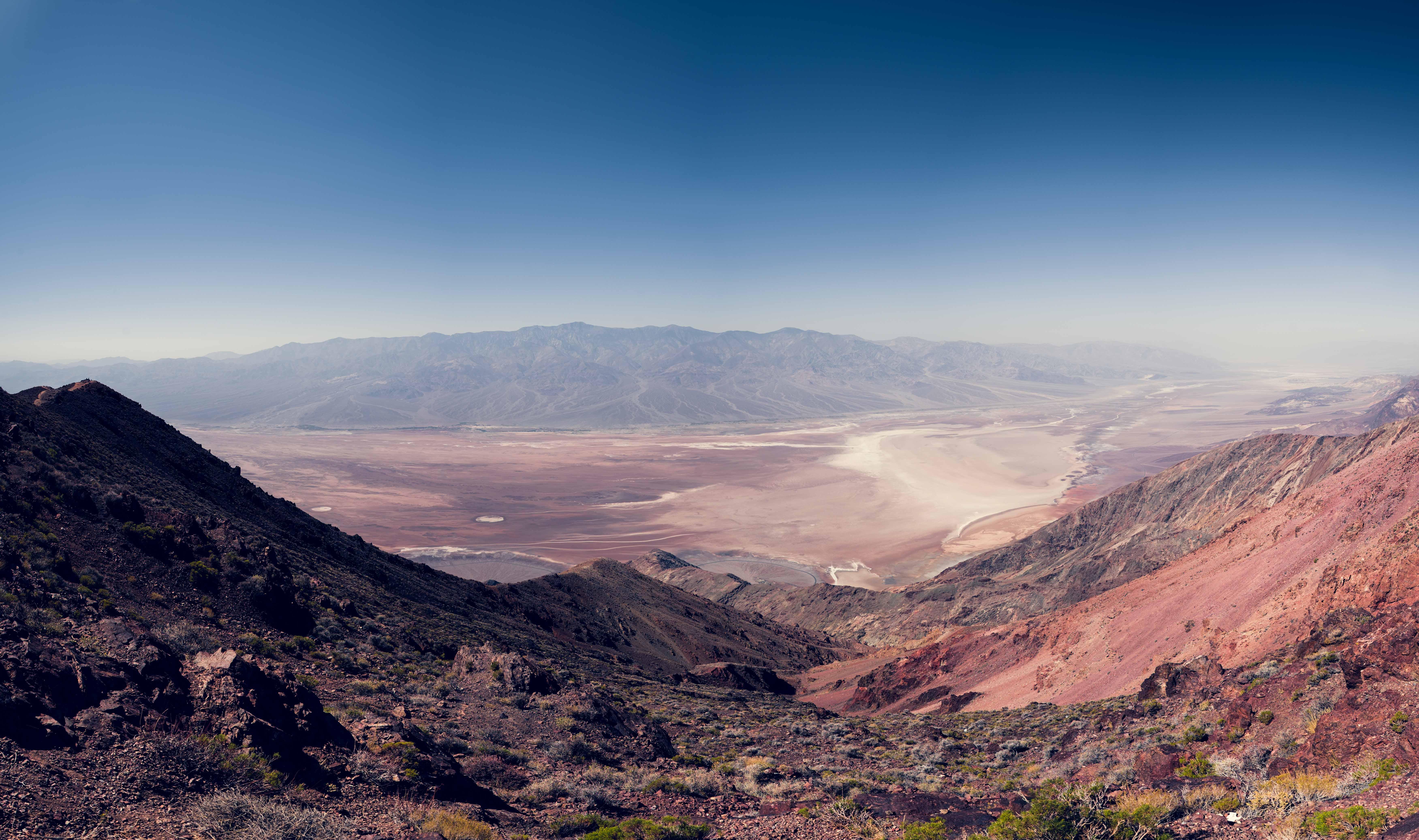 Death valley vallée de la mort Las Vegas Los Angeles San Francisco blog carnet de voyage voiture américaine désert montagnes