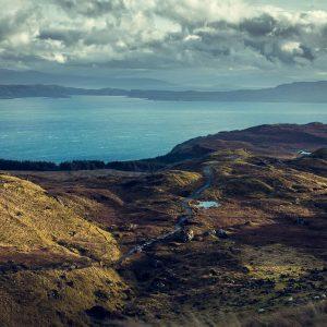 Écosse Scotland Inverness Ile de Skye montagne mer loch ness nessie