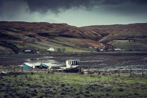 Carnet de voyage blog photo écosse ile de skye highlands whisky château montagne mer loch ness nessie taureau Scotland Inverness bull