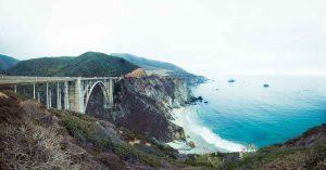 Bixby Creek bridge Californie hollywood Death valley vallée de la mort Las Vegas Los Angeles San Francisco blog carnet de voyage